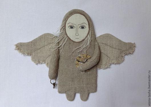 Подвески ручной работы. Ярмарка Мастеров - ручная работа. Купить Ангел серых будней-2. Handmade. Серый, интерьер, ключи