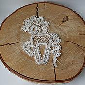 Русский стиль handmade. Livemaster - original item Vologda lace