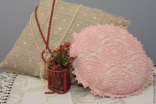 Текстиль, ковры ручной работы. Ярмарка Мастеров - ручная работа. Купить Уютный винтаж. Handmade. Бежевый, Вязание крючком, подарок