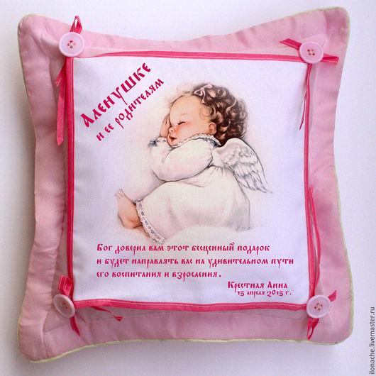 Вариант подушки за 1500,00 руб. Наволочка Китайского производства.
