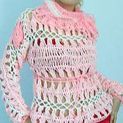 Одежда ручной работы. Ярмарка Мастеров - ручная работа блузон Розовые сны. Handmade.