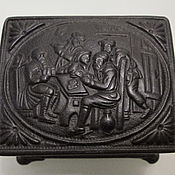 Винтаж handmade. Livemaster - original item 1902 Antique Royal Box for Diamond Kasli Cast iron. Handmade.