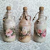 """Банки ручной работы. Ярмарка Мастеров - ручная работа Бутылки для специй """"Дом, милый дом"""". Handmade."""