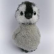 Куклы и игрушки ручной работы. Ярмарка Мастеров - ручная работа пингвинёнок Пончик. Handmade.