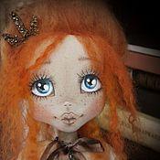 """Куклы и игрушки ручной работы. Ярмарка Мастеров - ручная работа Текстильная кукла """"Рыжуля"""". Handmade."""