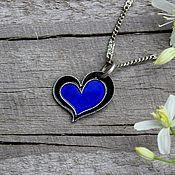 Украшения handmade. Livemaster - original item Silver heart pendant. Handmade.