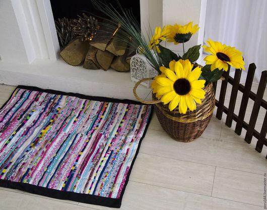 Экстерьер и дача ручной работы. Ярмарка Мастеров - ручная работа. Купить коврики в интерьере. Handmade. Разноцветный, уют, натуральные ткани