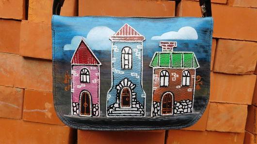 Женские сумки ручной работы. Ярмарка Мастеров - ручная работа. Купить Город-А-2. Handmade. Комбинированный