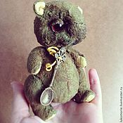 Куклы и игрушки ручной работы. Ярмарка Мастеров - ручная работа Хомяк Горошек. Handmade.
