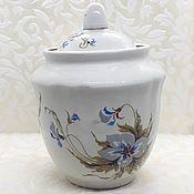 Винтаж handmade. Livemaster - original item Sugar bowl USSR Vintage. Handmade.