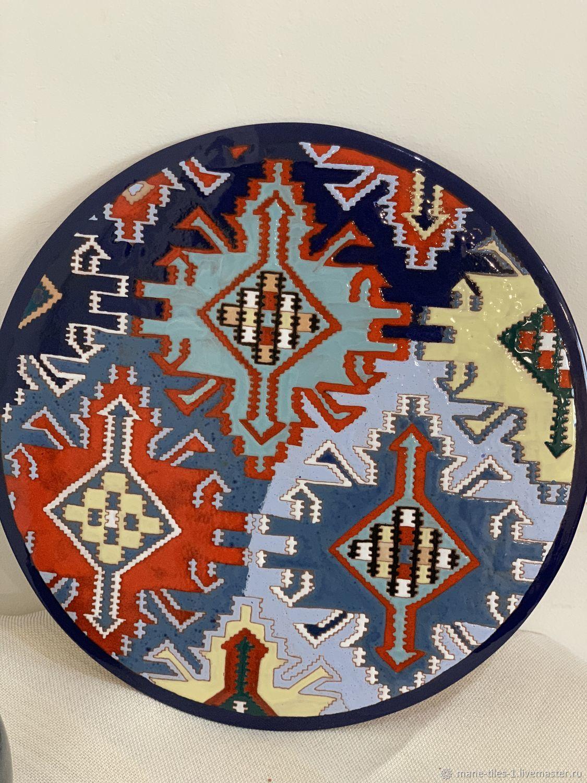 Армянская керамическая тарелка(38см), Тарелки, Ереван,  Фото №1