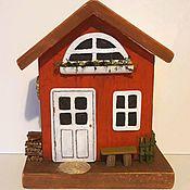 Домики ручной работы. Ярмарка Мастеров - ручная работа Интерьерный домик. Handmade.
