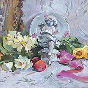 """Картины и панно ручной работы. Ярмарка Мастеров - ручная работа Картина  """"Белый ангел"""". Handmade."""