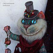"""Куклы и игрушки ручной работы. Ярмарка Мастеров - ручная работа плюшевый котей """"Туманный Мистер Че"""". Handmade."""