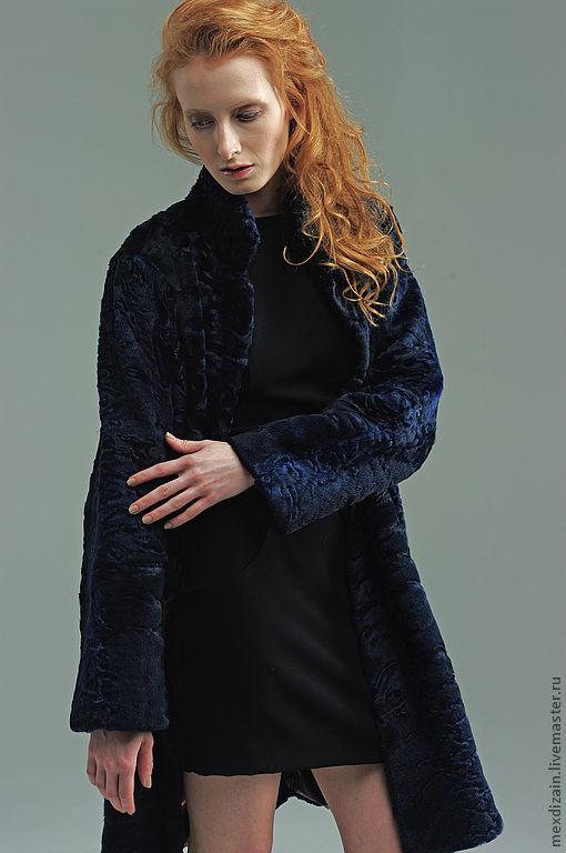 Верхняя одежда ручной работы. Ярмарка Мастеров - ручная работа. Купить Меховое пальто 7. Handmade. Каракуль, пальто из каракуля