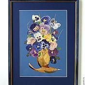 """Картины и панно ручной работы. Ярмарка Мастеров - ручная работа """"Летний букет"""". Handmade."""