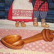 """Свадебный салон ручной работы. Ярмарка Мастеров - ручная работа ложка """"Деревянная свадьба"""" из дерева. Handmade."""