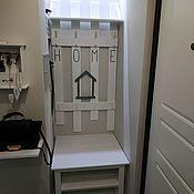 Для дома и интерьера handmade. Livemaster - original item Entrance hall, coat rack with shelf Shoe Cabinet / cupboard