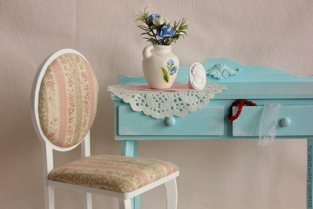 'Tenderness around the' furniture for BJD 1:4, Doll furniture, Zaporozhye,  Фото №1