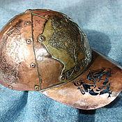 Русский стиль ручной работы. Ярмарка Мастеров - ручная работа Бейсболка из кровельной меди. Handmade.