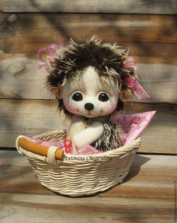 Ежик валяный Кнопочка)), Войлочная игрушка, Лабинск, Фото №1