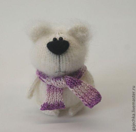 Игрушки животные, ручной работы. Ярмарка Мастеров - ручная работа. Купить Медведь белый вязаный. Handmade. Белый, белый медведь