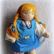 Куклы и игрушки ручной работы. Ярмарка Мастеров - ручная работа Вальдорфская кукла-девочка 50-52 см. Handmade.