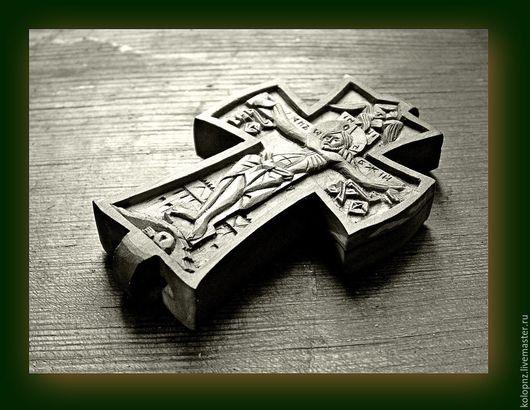Подарки на Пасху ручной работы. Ярмарка Мастеров - ручная работа. Купить Крест-параман. Handmade. Рыжий, монашеский, канонический, по благословению
