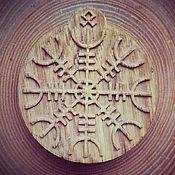 Русский стиль handmade. Livemaster - original item The Helm Of Awe Pendant. Handmade.