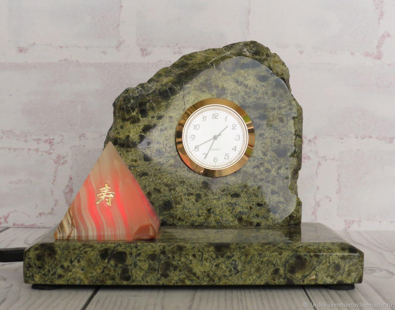 Coil and onyx backlit clock, Backlit Clocks, Izhevsk,  Фото №1