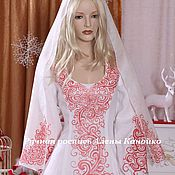 Русский стиль ручной работы. Ярмарка Мастеров - ручная работа Платье для Инги Егоровой. Handmade.
