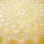 Для дома и интерьера handmade. Livemaster - original item Lace tablecloth crochet