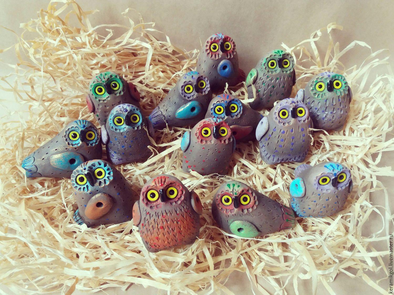 Owlets - whistles, Penny whistle, Irkutsk,  Фото №1