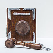 "Сувениры и подарки handmade. Livemaster - original item Тетрадь ""Моё слово-закон"". Handmade."