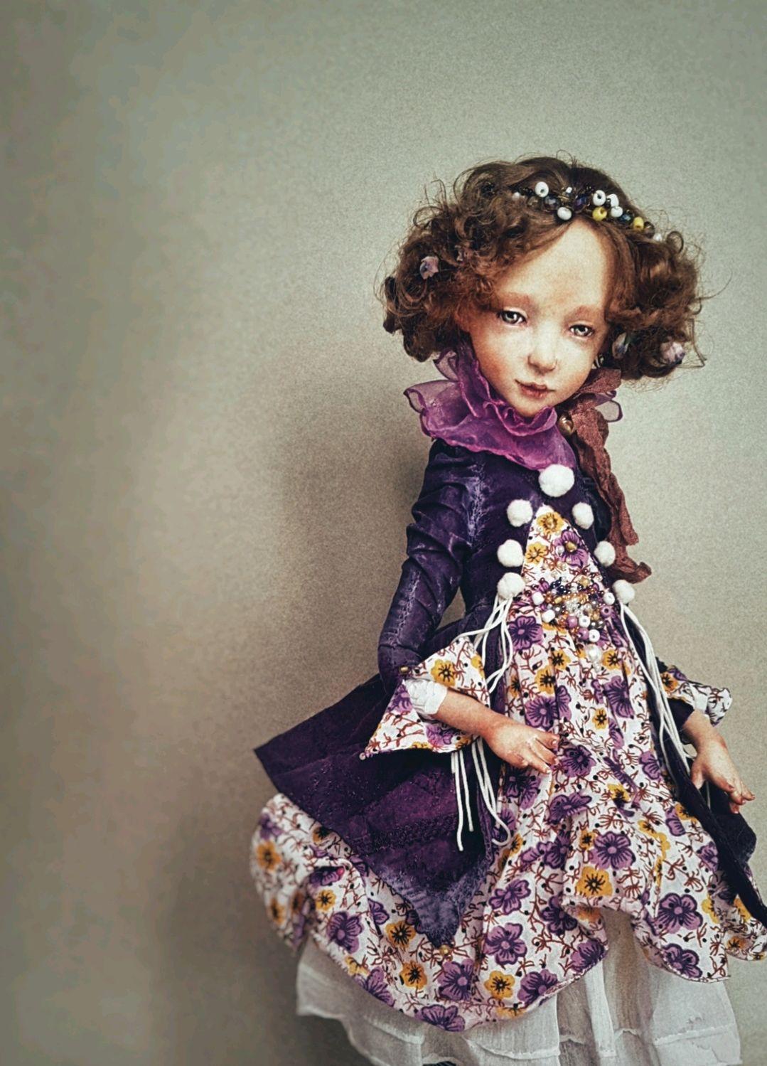 Video tutorial - Handmade interior doll by yourself, Dolls, Donetsk,  Фото №1