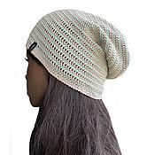 handmade. Livemaster - original item Summer knitted cap Selicia. Handmade.
