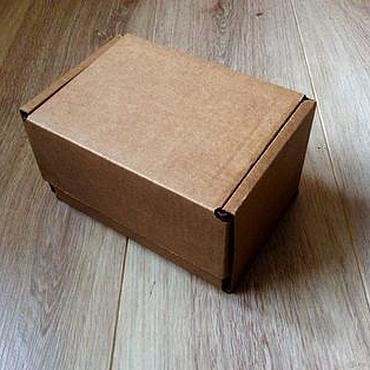 Материалы для творчества ручной работы. Ярмарка Мастеров - ручная работа почтовый короб тип Ж коробка крафт. Handmade.