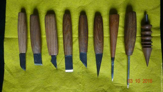 Другие виды рукоделия ручной работы. Ярмарка Мастеров - ручная работа. Купить Ножи для кожи. Handmade. Нож ручной работы