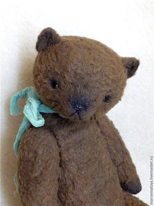 Мишки Тедди ручной работы. Ярмарка Мастеров - ручная работа. Купить Котя. Handmade. Коричневый, медведь, опилки