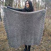 Аксессуары handmade. Livemaster - original item Down scarf (shawl)