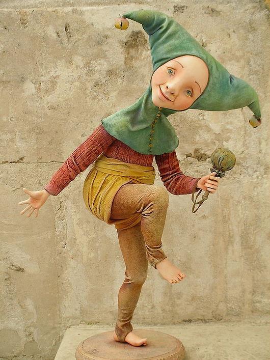 """Коллекционные куклы ручной работы. Ярмарка Мастеров - ручная работа. Купить Авторская кукла """"Шутейка"""". Handmade."""