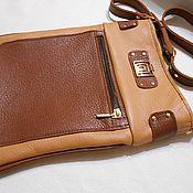 Сумки и аксессуары handmade. Livemaster - original item Women`s leather handbag tablet