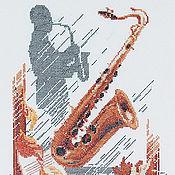 Картины и панно ручной работы. Ярмарка Мастеров - ручная работа Саксофон. Handmade.