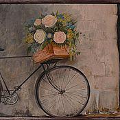 """Картины и панно ручной работы. Ярмарка Мастеров - ручная работа живопись, картина маслом """"Counrty"""". Handmade."""