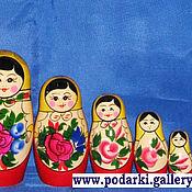 Русский стиль ручной работы. Ярмарка Мастеров - ручная работа Матрешка 7 - кукольная. Handmade.