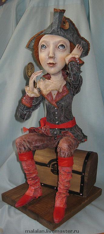 """Коллекционные куклы ручной работы. Ярмарка Мастеров - ручная работа. Купить Авторская кукла """"А всё-таки я женщина"""". Handmade."""