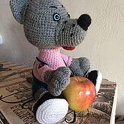 Мягкие игрушки ручной работы. Ярмарка Мастеров - ручная работа Мягкие игрушки: Вязанная игрушка ручная работа. Handmade.