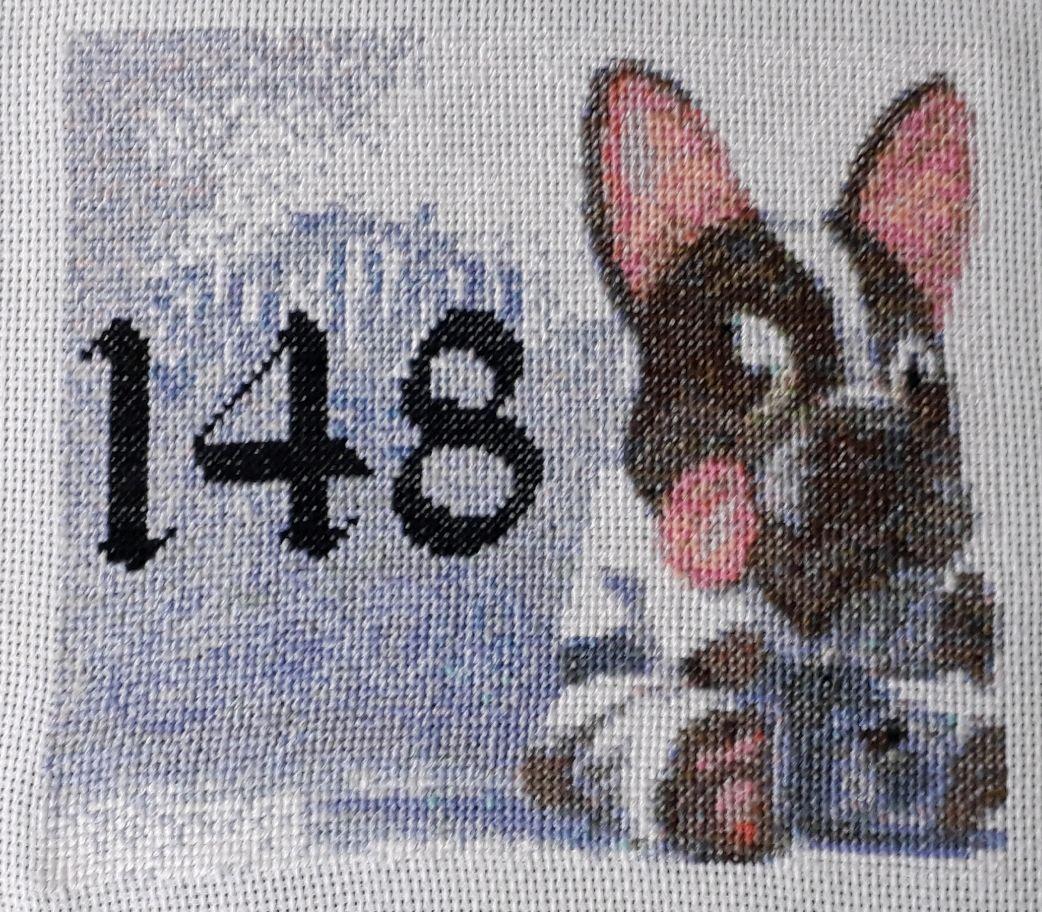 Номер на дверь с вышивкой, Таблички, Подольск,  Фото №1