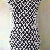 Одежда ручной работы. Ярмарка Мастеров - ручная работа платье-сеточка. Handmade.