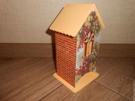 """Кухня ручной работы. Ярмарка Мастеров - ручная работа. Купить Чайный домик """"Спелый виноград"""". Handmade. Оранжевый, виноград"""